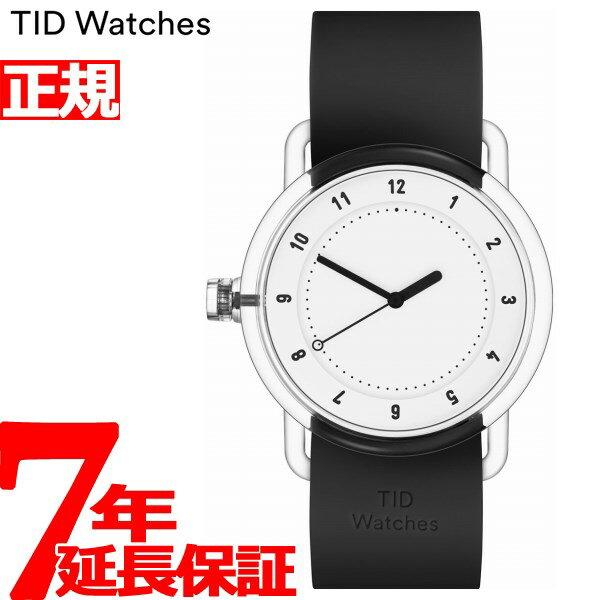 8月15日限定!最大2000円OFFクーポン配布中♪15日0時から16日9時59分まで! ティッドウォッチズ TID Watches 腕時計 メンズ/レディース ティッドウォッチ No.3 コレクション TID03-WH/BK
