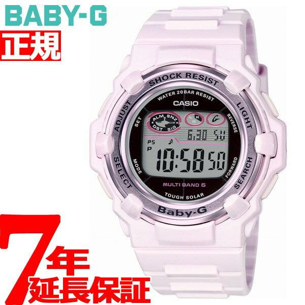 カシオ ベビーG CASIO BABY-G Pink Bouquet Series 電波 ソーラー 電波時計 腕時計 レディース BGR-3003-4JF【2017 新作】【あす楽対応】【即納可】