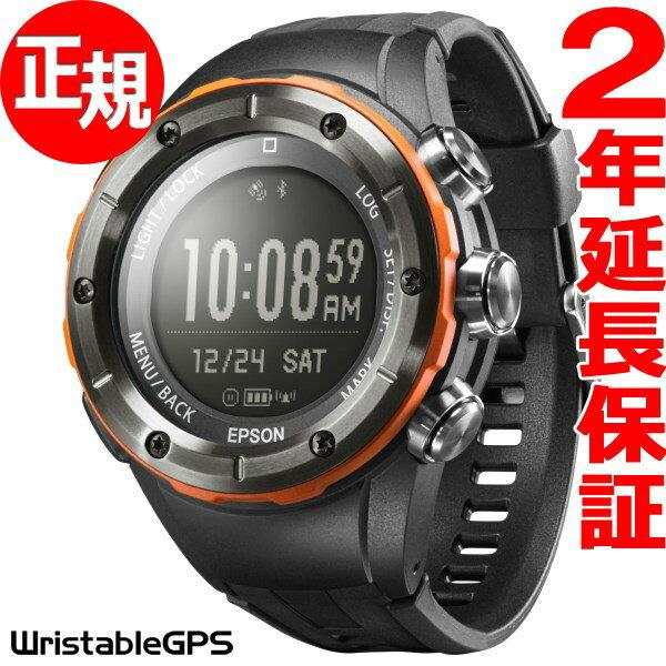 エプソン リスタブルGPS トレッキングギア EPSON WristableGPS for Trek スマートウォッチ 腕時計 メンズ MZ-500L
