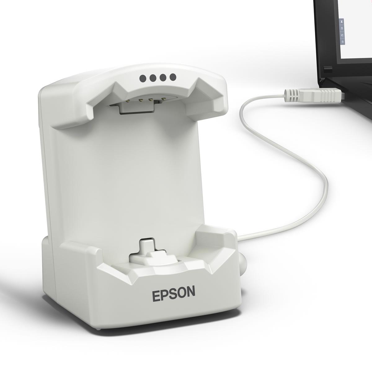 エプソン リスタブルGPS EPSON WristableGPS SF-120シリーズ用充電用クレードル 白 SF-CRD02
