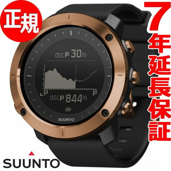 スント トラバース アルファ SUUNTO TRAVERSE ALPHA COPPER GPS スマートウォッチ 腕時計 メンズ カッパー SS023443000【2017 新作】