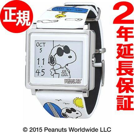 エプソン スマートキャンバス EPSON smart canvas PEANUTS スヌーピー変装シリーズ ジョー・クール 腕時計 メンズ レディース W1-PN20510【あす楽対応】【即納可】