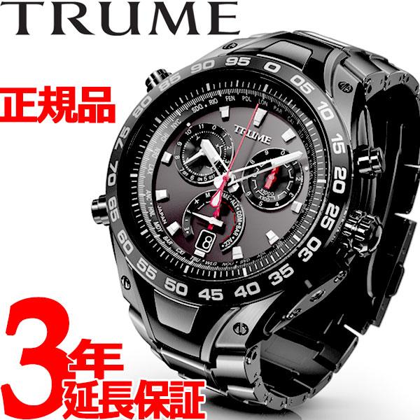 エプソン トゥルーム EPSON TRUME ライトチャージ GPS衛星電波時計 腕時計 メンズ TR-MB8002X