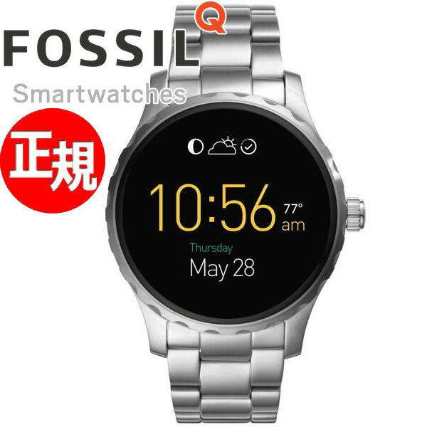 フォッシル FOSSIL スマートウォッチ ウェアラブル Q MARSHAL Qマーシャル 腕時計 メンズ/レディース FTW2109【正規品】【サイズ調整無料】