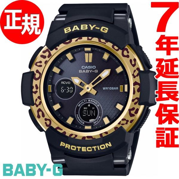 カシオ ベビーG CASIO BABY-G Leopard Pattern Series 電波 ソーラー 電波時計 腕時計 レディース BGA-2100LP-1AJF【2017 新作】