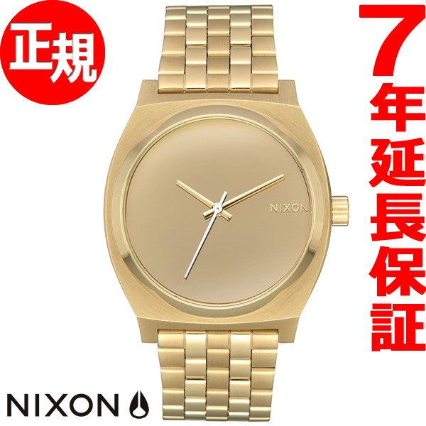 ニクソン NIXON タイムテラー TIME TELLER 腕時計 メンズ/レディース ライトゴールド/ミラー NA0452764-00【2017 新作】【あす楽対応】【即納可】