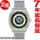ニクソン NIXON タイムテラー サンタクルーズ コラボモデル TIME TELLER 腕時計 メンズ レディース SILVER/ROSKOPP NA…