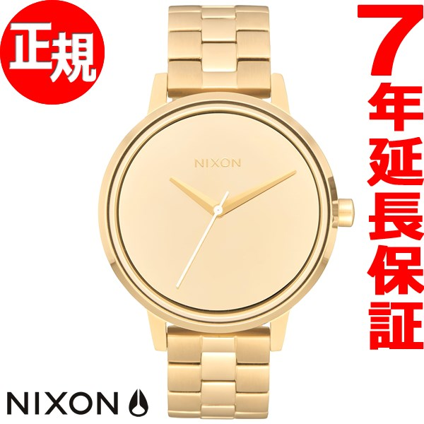 ニクソン NIXON ケンジントン KENSINGTON 腕時計 レディース ライトゴールド/ミラー NA0992764-00【2017 新作】【あす楽対応】【即納可】