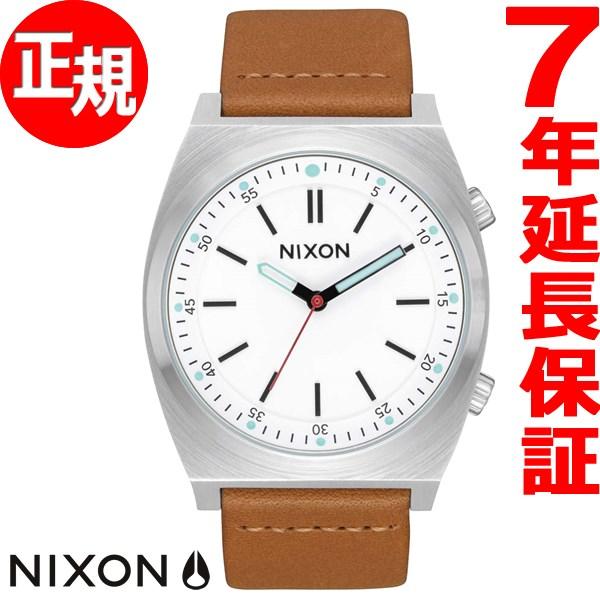 ニクソン NIXON ブリゲイド レザー BRIGADE LEATHER 腕時計 メンズ クリーム/トープ NA11782728-00【2017 新作】