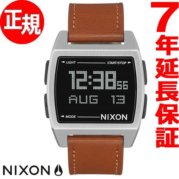 ニクソン NIXON ベース レザー BASE LEATHER 腕時計 メンズ/レディース サドル NA1181747-00