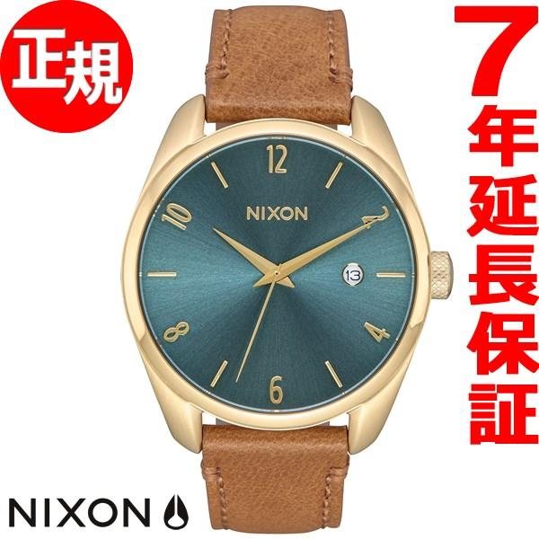ニクソン NIXON ブレット レザー BULLET LEATHER 腕時計 レディース ライトゴールド/ターコイズ NA4732626-00【2017 新作】