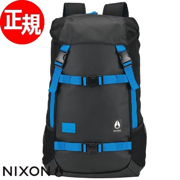 ニクソン NIXON リュック バックパック スケート ランドロック2 LANDLOCK II BACKPACK ブラック/ブルー/フロート NC19532835-00【2017 新作】【あす楽対応】【即納可】