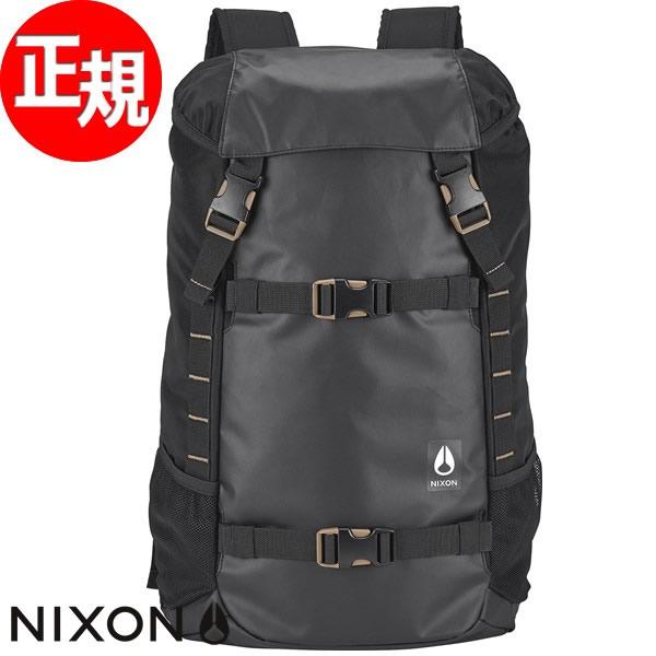 ニクソン NIXON リュック バックパック スケート ランドロック3 LANDLOCK III BACKPACK オールブラック ナイロン NC28131148-00【2017 新作】【あす楽対応】【即納可】