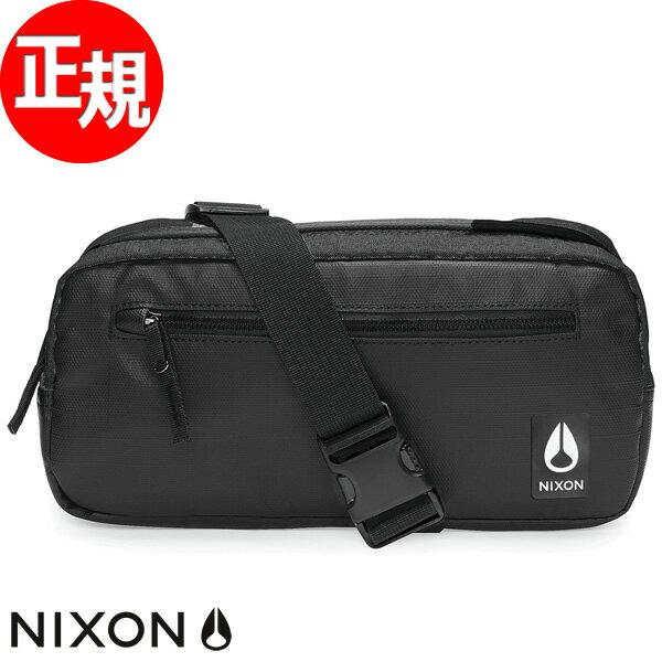 【SHOP OF THE YEAR 2018 受賞】ニクソン NIXON ファウンテン スリングパック3 バッグ FOUNTAIN SLING PACK III BAG ブラック NC2816000-00