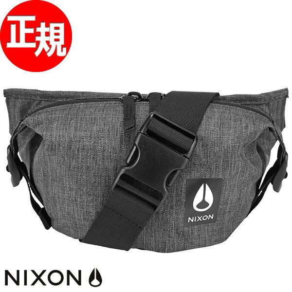 【SHOP OF THE YEAR 2018 受賞】ニクソン NIXON トレスルズ ヒップパック バッグ TRESTLES HIP PACK BAG チャコールヘザー NC2851168-00