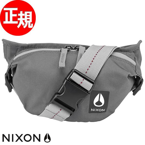 【SHOP OF THE YEAR 2018 受賞】ニクソン NIXON トレスルズ ヒップパック バッグ TRESTLES HIP PACK BAG グレイ マルチ NC28511692-00