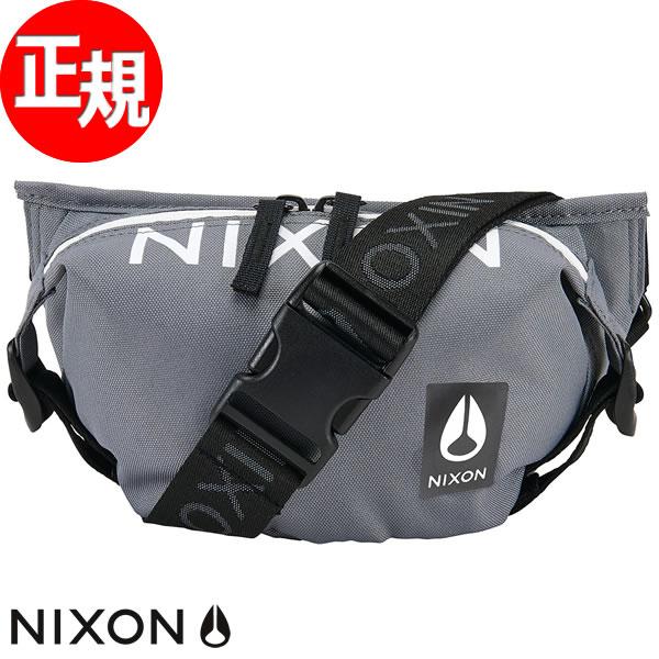 【SHOP OF THE YEAR 2018 受賞】ニクソン NIXON トレスルズ ヒップパック バッグ TRESTLES HIP PACK BAG ブラック/ダークグレイ NC28512048-00
