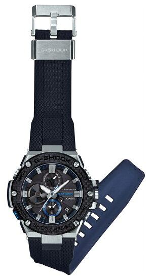 カシオGショックGスチールCASIOG-SHOCKG-STEELソーラー腕時計メンズタフソーラーGST-B100XA-1AJF【2017新作】