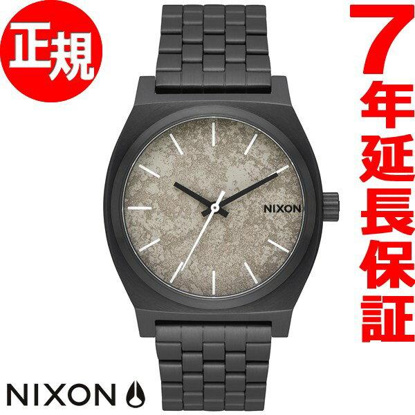 ニクソン NIXON タイムテラー TIME TELLER 腕時計 メンズ/レディース ブラック/コンクリート NA0452687-00【2017 新作】