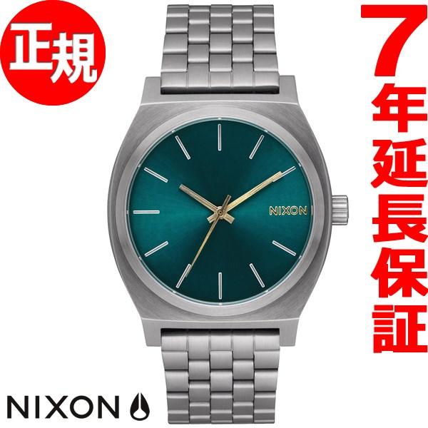 ニクソン NIXON タイムテラー TIME TELLER 腕時計 メンズ/レディース ガンメタル/スプルース/ブラス NA0452789-00【2017 新作】