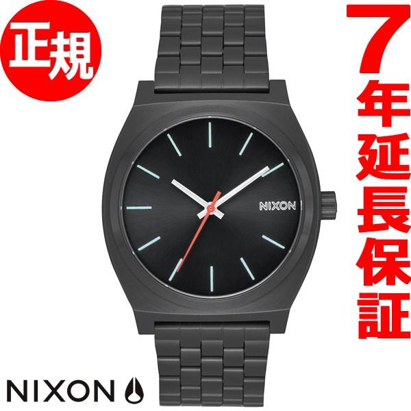 ニクソン NIXON タイムテラー TIME TELLER 腕時計 メンズ/レディース オールブラック/シルバー/ルミ NA0452790-00