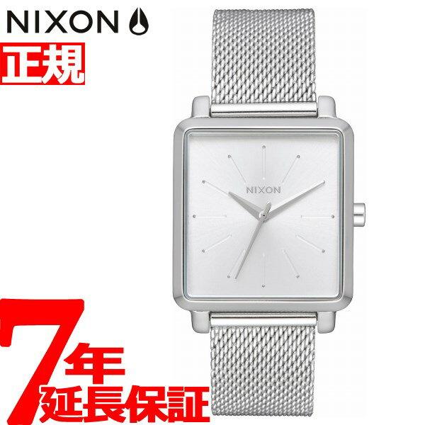 ニクソン NIXON K スクエアード ミラネーゼ K SQUARED MILANESE 腕時計 レディース オールシルバー NA12061920-00【2017 新作】【あす楽対応】【即納可】