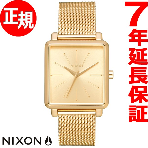 ニクソン NIXON K スクエアード ミラネーゼ K SQUARED MILANESE 腕時計 レディース オールゴールド NA1206502-00【2017 新作】【あす楽対応】【即納可】