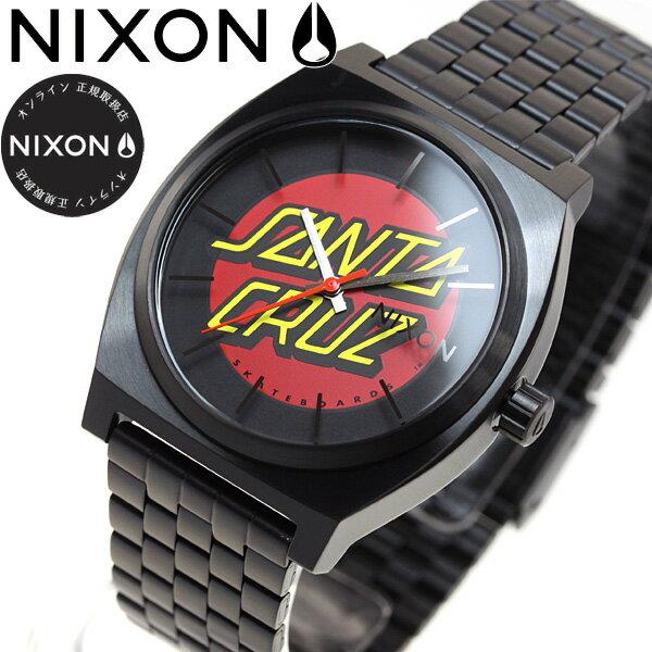 ニクソン NIXON タイムテラー サンタクルーズ コラボモデル TIME TELLER 腕時計 メンズ レディース BLACK/SANTA CRUZ NA0452895-00【2017 新作】【あす楽対応】【即納可】