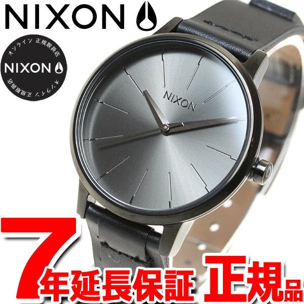 ニクソン NIXON ケンジントンレザー KENSINGTON LEATHER 腕時計 レディース ブラック/ブライドル NA1082132-00【あす楽対応】【即納可】