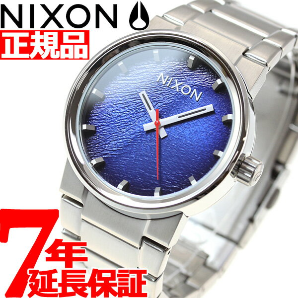 先着!最大9万円OFFクーポン付!+ポイント最大35倍は15日23時59分まで!ニクソン NIXON キャノン CANNON 腕時計 メンズ リフレックスブルーサンレイ NA1602660-00