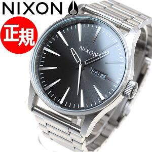 ニクソンNIXONセントリーSSSENTRYSS腕時計メンズブラックサンレイNA3562348-00【2017新作】