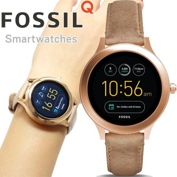 フォッシル FOSSIL Q スマートウォッチ ウェアラブル 腕時計 レディース ベンチャー Q VENTURE FTW6005【2017 新作】【あす楽対応】【即納可】