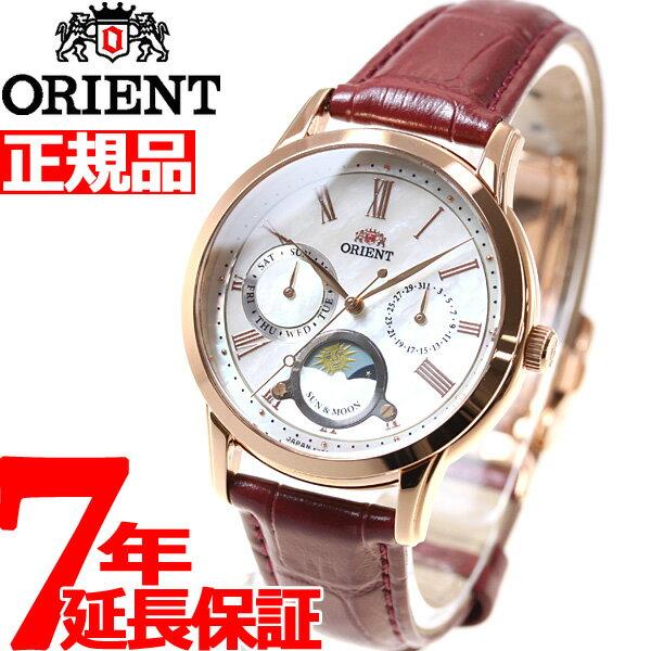 オリエント ORIENT クラシック CLASSIC 腕時計 レディース サン&ムーン RN-KA0001A