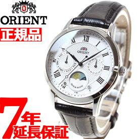 【18日10時〜!店内ポイント最大37.5倍!】オリエント ORIENT クラシック CLASSIC 腕時計 レディース サン&ムーン RN-KA0003S