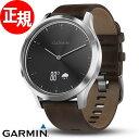 ガーミン GARMIN ヴィヴォムーブ vivomove HR Premium Black Silver スマートウォッチ ウェアラブル端末 腕時計 メンズ レ...