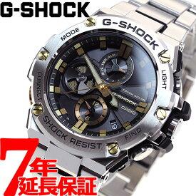 【1日0時〜!最大3万円OFFクーポン&店内ポイント最大43倍!1日23時59分まで】G-SHOCK G-STEEL カシオ Gショック Gスチール CASIO ソーラー 腕時計 メンズ タフソーラー GST-B100D-1A9JF