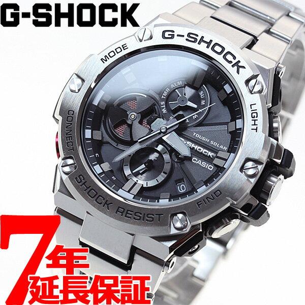 カシオ Gショック Gスチール CASIO G-SHOCK G-STEEL ソーラー 腕時計 メンズ タフソーラー GST-B100D-1AJF【2017 新作】【あす楽対応】【即納可】