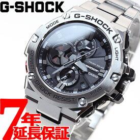 【1日0時〜♪店内ポイント最大48倍&最大3万円OFFクーポン!1日23時59分まで】G-SHOCK G-STEEL カシオ Gショック Gスチール CASIO ソーラー 腕時計 メンズ タフソーラー GST-B100D-1AJF