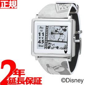 【SHOP OF THE YEAR 2018 受賞】エプソン スマートキャンバス EPSON smart canvas Mickey Mouse ヴィンテージシリーズ グレー 腕時計 メンズ レディース W1-DY10120【あす楽対応】【即納可】
