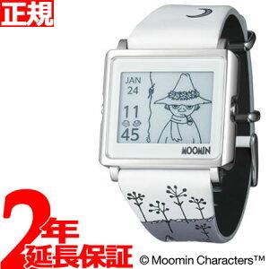エプソンスマートキャンバスEPSONsmartcanvasMOOMINムーミン・スナフキン腕時計メンズレディースW1-MM10210