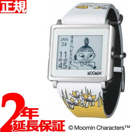 エプソン スマートキャンバス EPSON smart canvas MOOMIN ムーミン・リトルミイ 腕時計 メンズ レディース W1-MM10310【あす楽対応】【即納可】