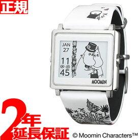 【SHOP OF THE YEAR 2018 受賞】エプソン スマートキャンバス EPSON smart canvas MOOMIN ムーミン・ムーミンママ 腕時計 メンズ レディース W1-MM30510