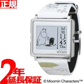 【SHOP OF THE YEAR 2018 受賞】エプソン スマートキャンバス EPSON smart canvas MOOMIN ムーミンコミックス 一人ぼっちのムーミン 腕時計 メンズ レディース W1-MM50110