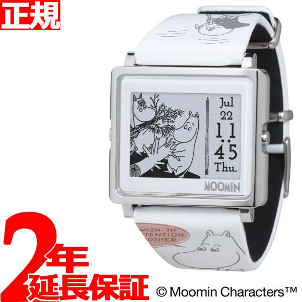 【SHOP OF THE YEAR 2018 受賞】エプソン スマートキャンバス EPSON smart canvas MOOMIN Comic Strip ムーミンコミックス 家をたてよう 腕時計 メンズ レディース W1-MM50210