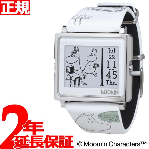 EPSON smart canvas MOOMIN Comic Strip ムーミンコミックス 恋するムーミン 腕時計 メンズ レディース W1-MM50310