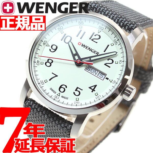 ウェンガー WENGER 腕時計 メンズ アティチュード デイデイト ヘリテージ Attitude Day&Date Heritage 01.1541.106