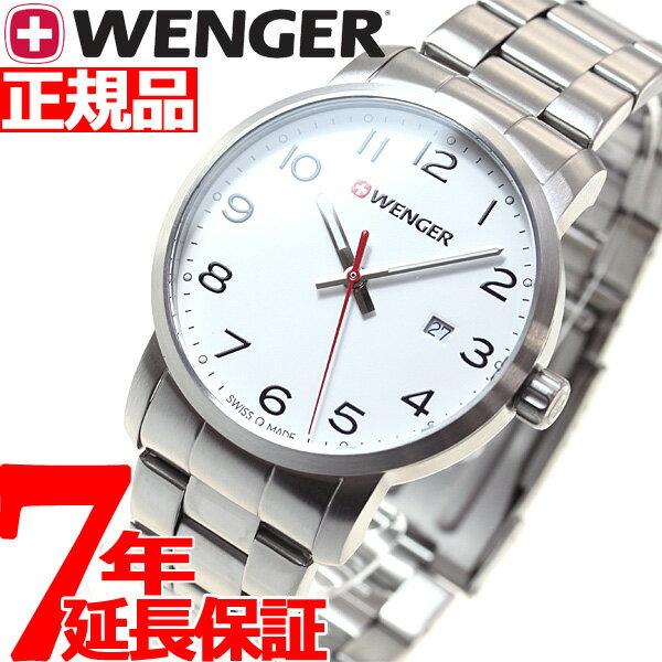 本日ポイント最大37倍!26日1時59分まで!ウェンガー WENGER 腕時計 メンズ アヴェニュー Avenue 01.1641.104