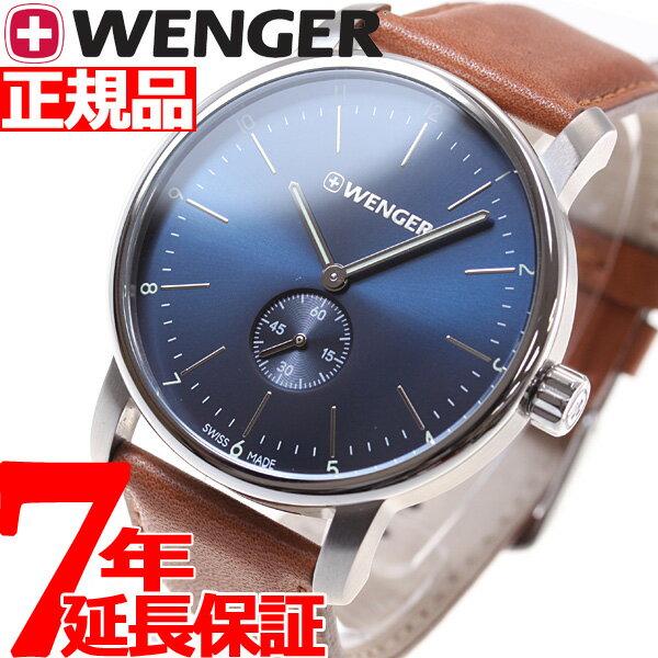 本日ポイント最大37倍!26日1時59分まで!ウェンガー WENGER 腕時計 メンズ アーバン クラシック プチセコンド Urban Classic Petit Second 01.1741.103