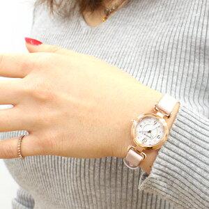 シチズンウィッカCITIZENwiccaソーラーテック電波時計腕時計レディースハッピーダイアリーKL0-669-15【2018新作】