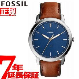 【5日0時〜♪2000円OFFクーポン&店内ポイント最大47倍!5日23時59分まで】フォッシル FOSSIL 腕時計 メンズ THE MINIMALIST 3H FS5304